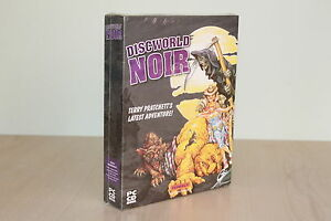 MEGA-RARE-Big-Box-Discworld-Noir-Terry-Pratchett-PC-CD-New-Sealed