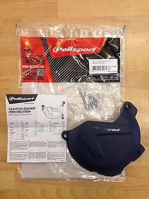 Polisport Clutch Cover Protection Black for Husqvarna FE 350 2014-2016