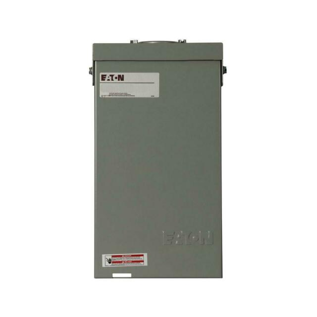 Eaton Spa Panel Outdoor Circuit Breaker Self Test Ground Fault Ch 40amp 4circuit For Sale Online