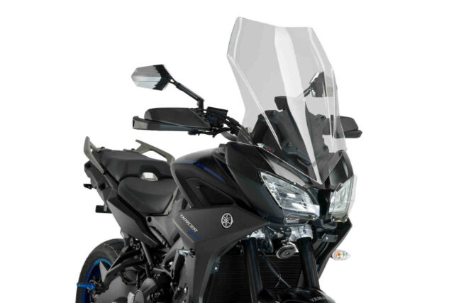 PUIG WINDSHIELD TOURING FOR YAMAHA MT-09 TRACER 18-20 CLEAR