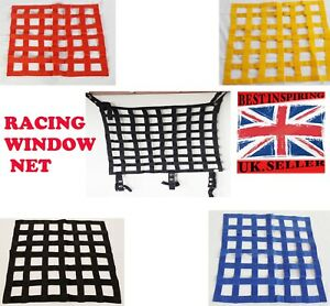 Window-Net-Racing-Safety-Equipment-Accessories-Car-Rally-Motorsports-Heavy-Duty
