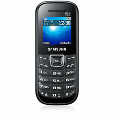 Brand New Samsung GT E1205Y - Black (Unlocked) Mobile Phone FM SIM FREE UK & EU