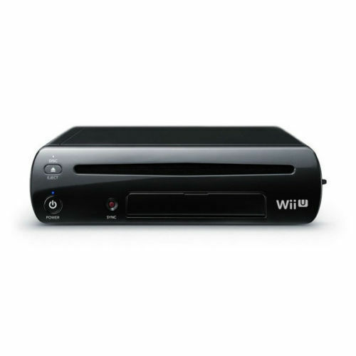 1 of 1 - Nintendo Wii U Black 32GB Deluxe System Original Replacement Console Only