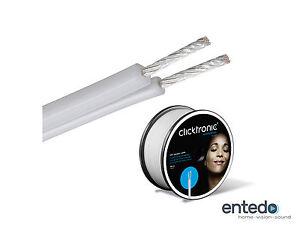 Clicktronic-Casual-OFC-Kupfer-Kabel-2x-2-5mm-Lautsprecherkabel-Meterware-52800
