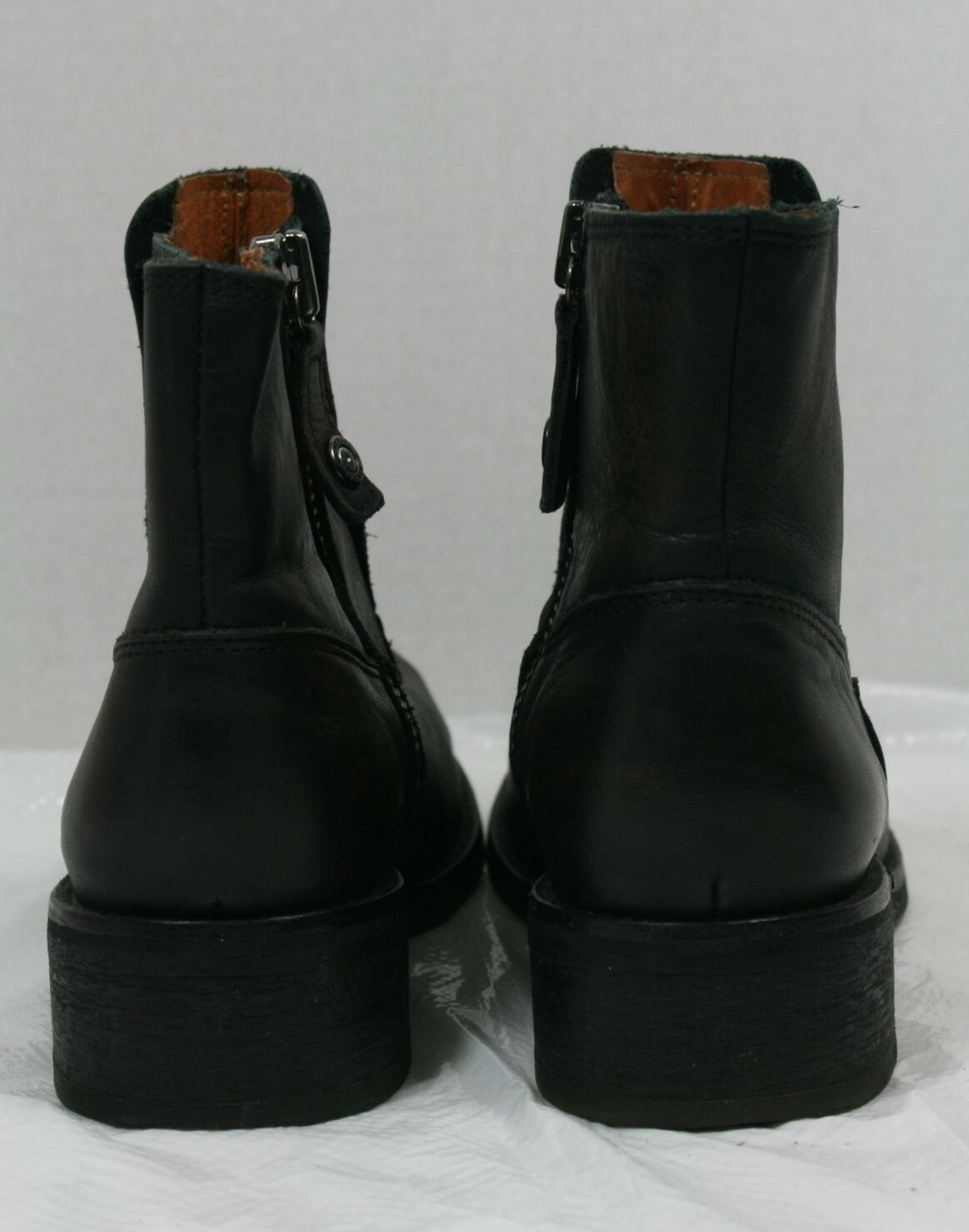 DIESEL SHOES ROXYDOO ROXYDOO SHOES BOOTS ANKLE BOOTIES DARK BROWN LEATHER 38  320 50af89