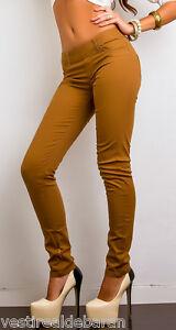 S Donna Jeans L Tg Pantaloni XL M C051 skinny contre 51qTwY