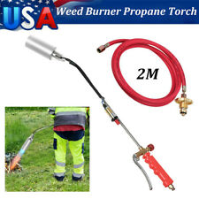 Propane Torch Weed Burner Fire Starter Ice Melter Wand Igniter Roofing 79 Hose