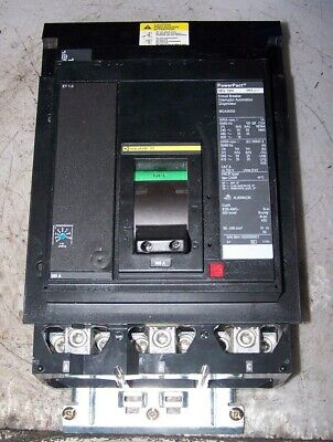 Square D LA36300 WARRANTY BLACK 3 POLE 300 AMP 600 VOLT Circuit Breaker