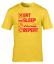 miniature 15 - Eat Sleep Mine Repeat Kids T-Shirt Boys Girls Gamer Gaming Tee Top