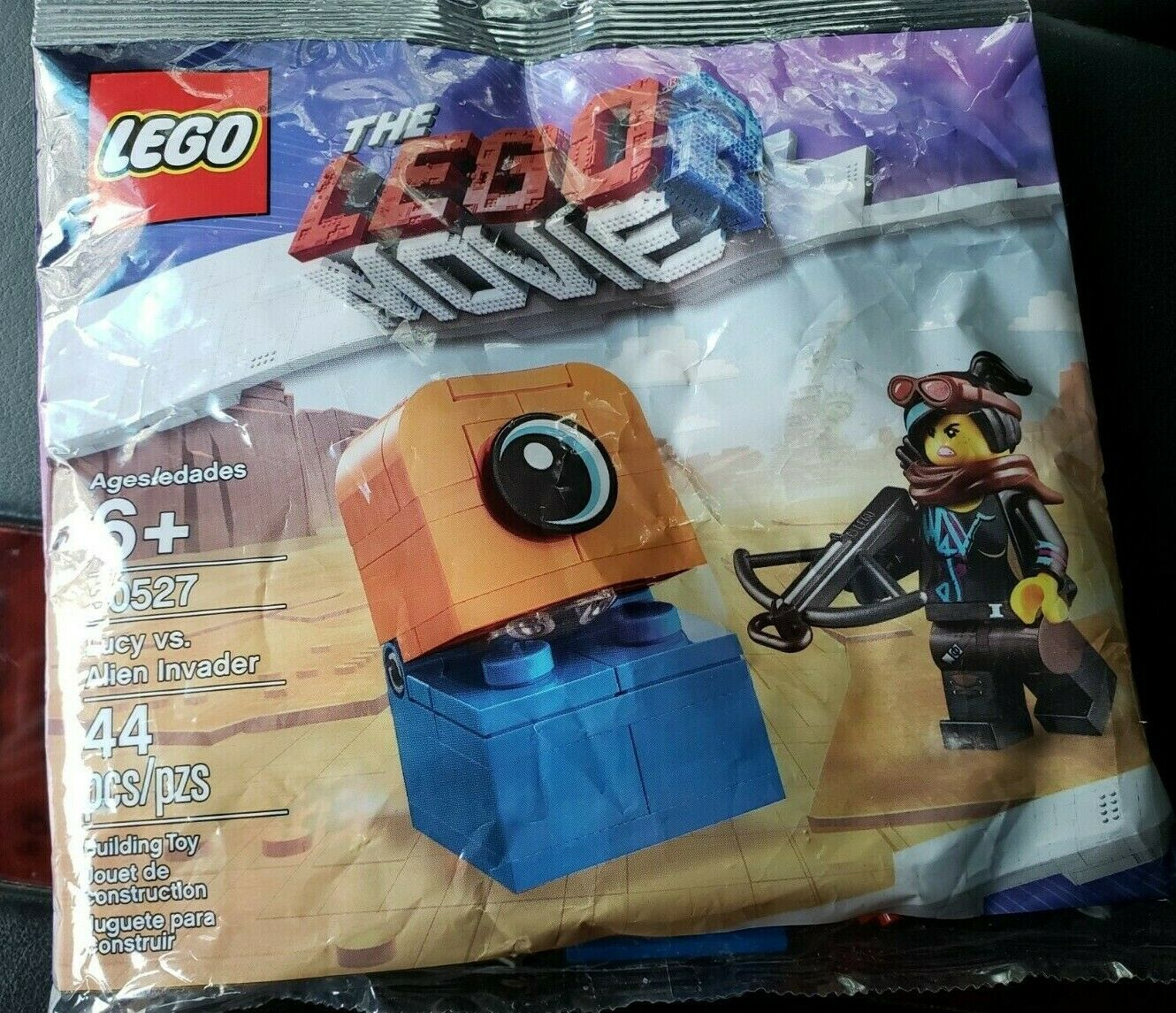 The Lego Movie 2 Lucy vs Alien Invader 30527 Polybag 44pcs Brand New Sealed