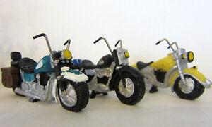 Miniatur Motorrad L 6 5cm Modell Klein Shopper Setzkasten