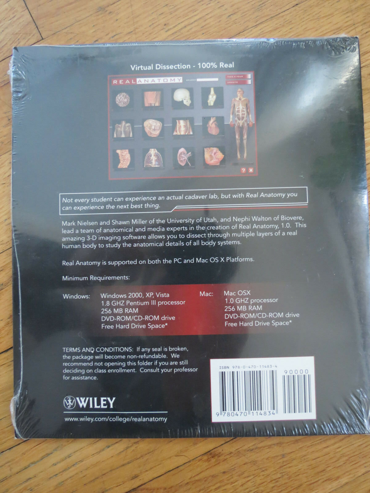 Real Anatomy Software DVD by Gerard J. Tortora, Shawn D. Miller and ...