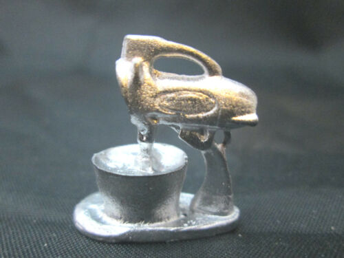 Dollhouse Miniature Unfinished Metal Mixer