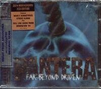 PANTERA FAR BEYOND DRIVEN 20TH ANNIVERSARY EDITION SEALED 2 CD SET 2014 REMASTER