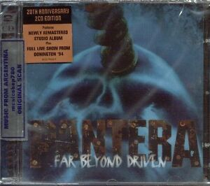 PANTERA-FAR-BEYOND-DRIVEN-20TH-ANNIVERSARY-EDITION-SEALED-2-CD-SET-2014-REMASTER