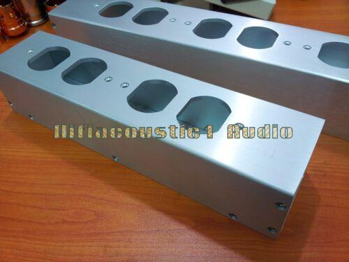 1x Barra De Fuente De Alimentación AC Estados Unidos Distribuidor De Aluminio 4//6 chasis de alta fidelidad Caja de salida
