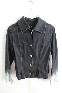Giubbino-TRUSSARDI-JEANS-Donna-Giacca-Jacket-Woman-Taglia-Size-42