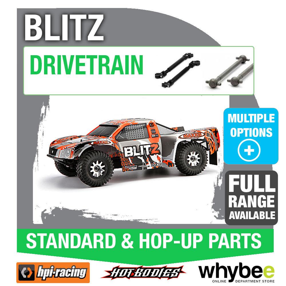 HPI BLITZ DRIVETRAIN Genuine HPi Racing R C Standard & Hop-Up Parts