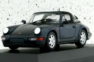 PORSCHE 911 Carrera 2 Targa - 1991 - darkgreenmetallic - Maxichamps 1:43