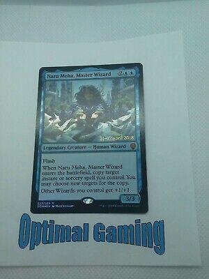 MASTER WIZARD Magic the Gathering NM Rare 1x NARU MEHA Dominaria MTG