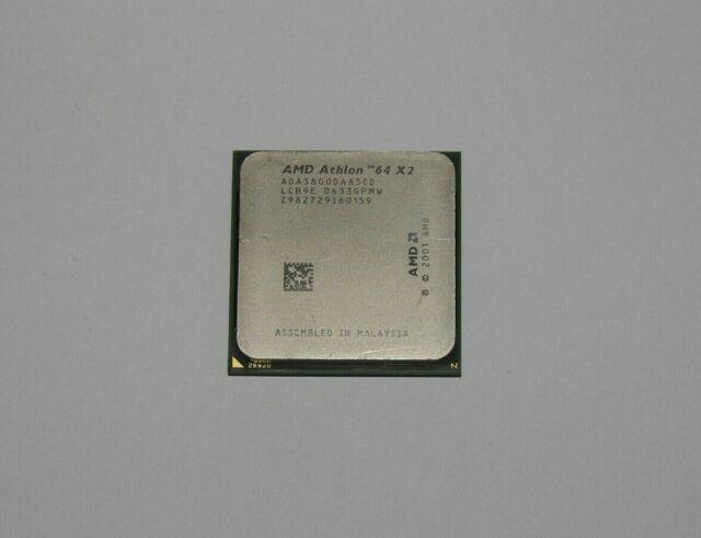 AMD Athlon 64 X2 3800+ 2 GHz (ADA3800DAA5CD) Prozessor 939 + Wärmeleitpaste