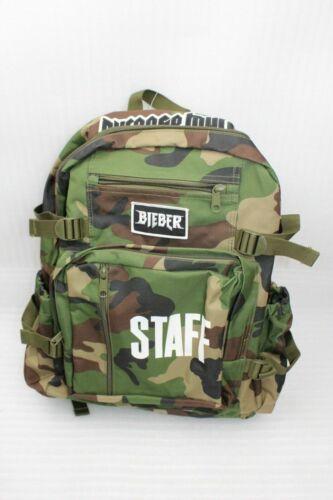 Rothco Woodland Camo Rucksack Bieber Staff Aufdruck 45x34x8 cm Camouflage NEU