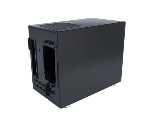 Computer Case By Integer Computers Black Aluminum Model B-18