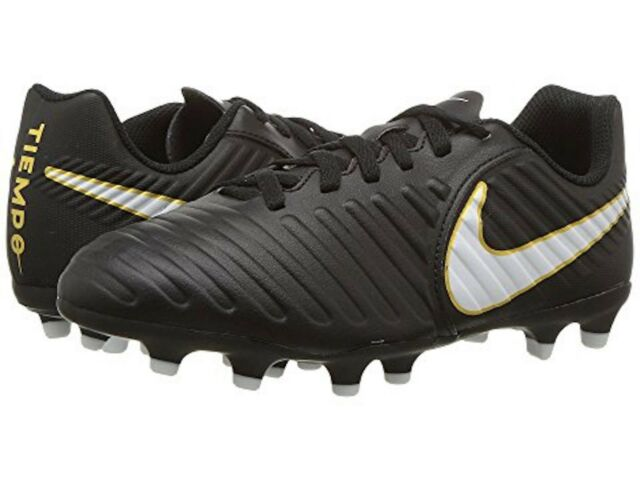 166b4adc380f1 NEW Sealed Nike Jr Tiempo Rio IV Firm-Ground Kids Soccer Cleats Size 4 5