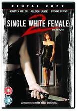 SINGLE WHITE FEMALE 2 THE PSYCHO KRISTEN MILLER ALLISON LANGE UK DVD NEW SEALED