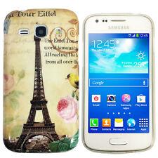 Funda para Samsung Galaxy Ace 3 s7275 s7270 protección case cover TPU París ciudad
