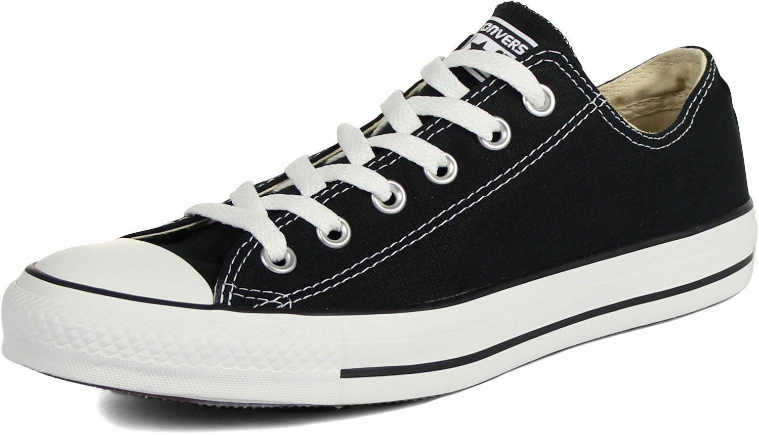 CONVERSE CHUCK TAYLOR ALL STAR LO TOP M9166 Black SHOES  - W 13   M 11