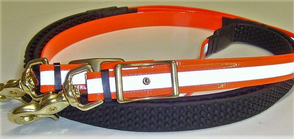 Perfeq FluorescentiRiflettente SUPERGRIP rossoini in Trans. ArancioneFull Diuominiione