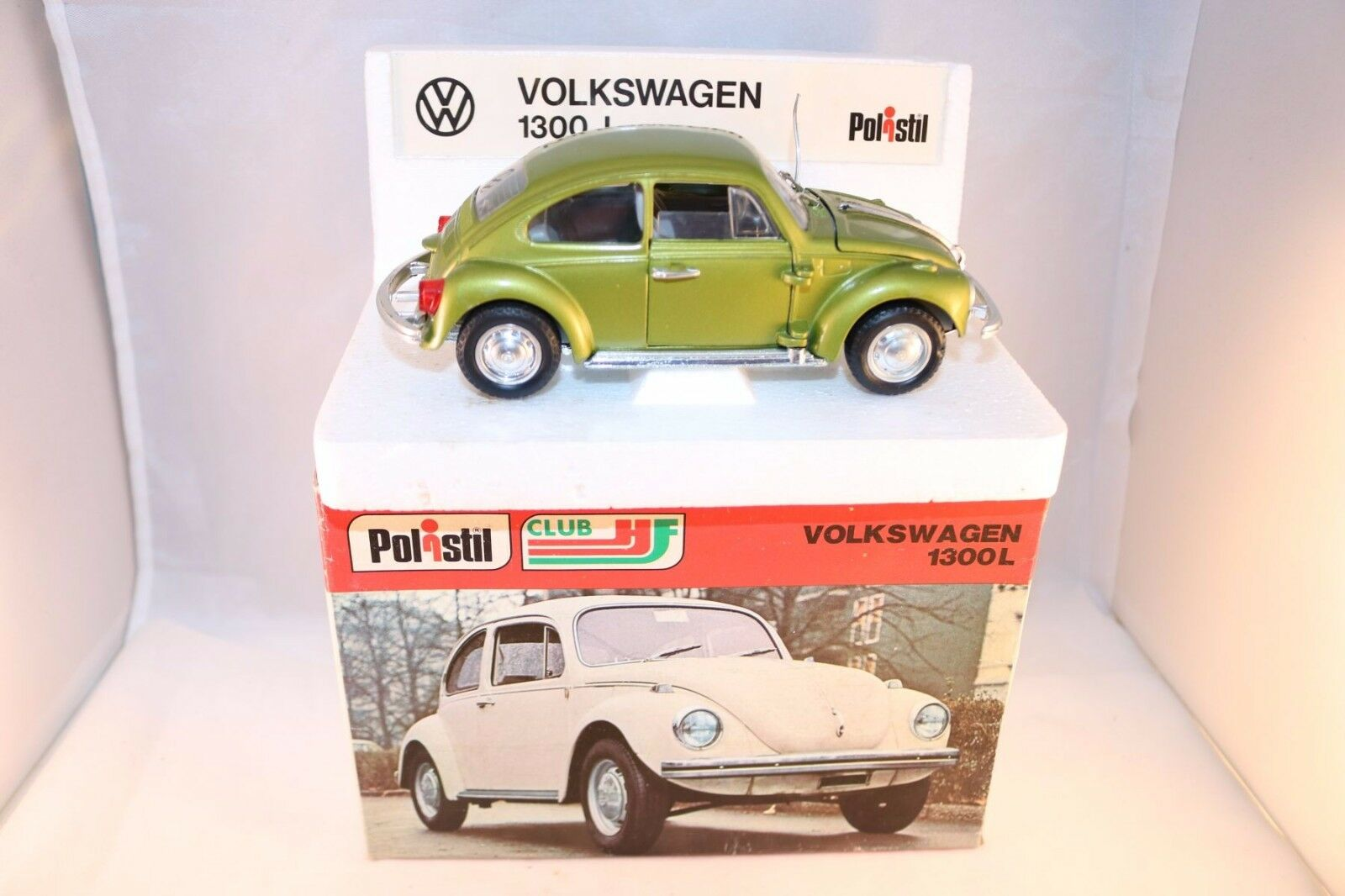 Polistil S42 S 42 Volkswagen 1300L 99.9%  mint in box 1 25 selten raro rare
