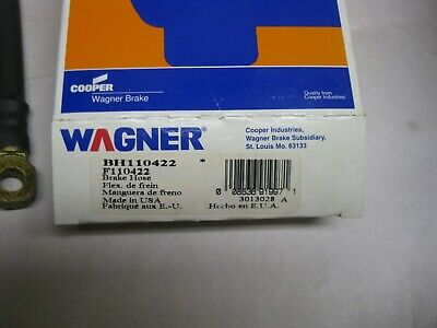 Brake Hydraulic Hose Front Left Wagner BH132319