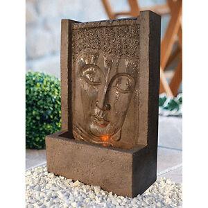 heissner brunnen buddha fountain ebay. Black Bedroom Furniture Sets. Home Design Ideas
