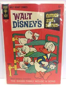 Walt-Disney-039-s-Comics-and-Stories-306-Comic-Book-Gold-Key-1966