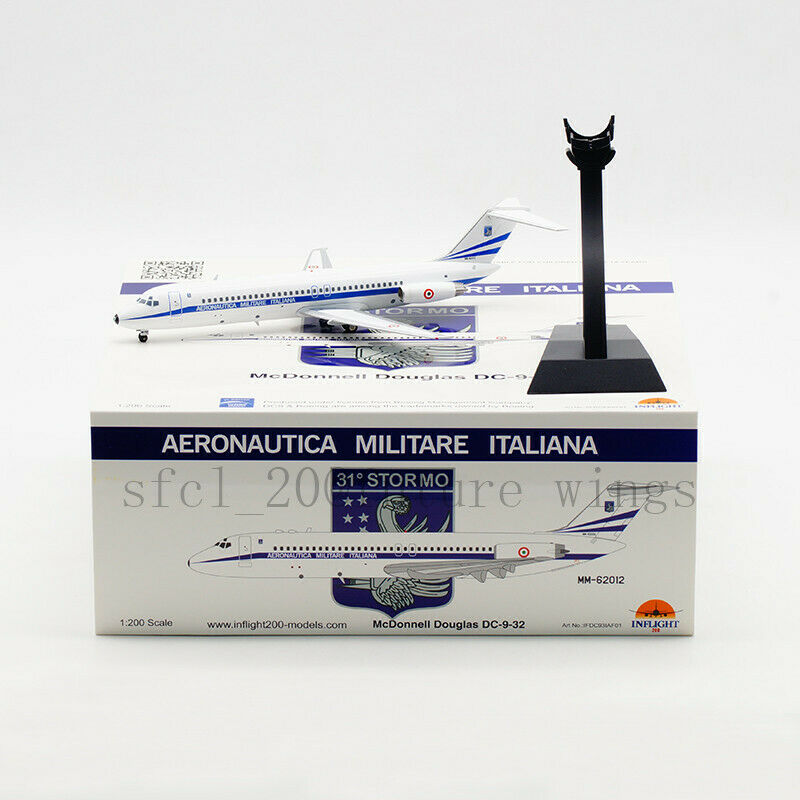 1 200 200 200 InFlight200 Italian Air Force DC-9-30 MM62012 With