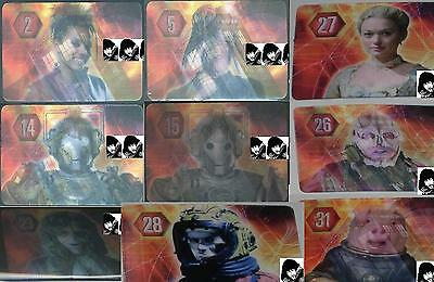 Doctor Who MICRO UNIVERSE HOLOGRAM LENTICULAR Assorted Cards