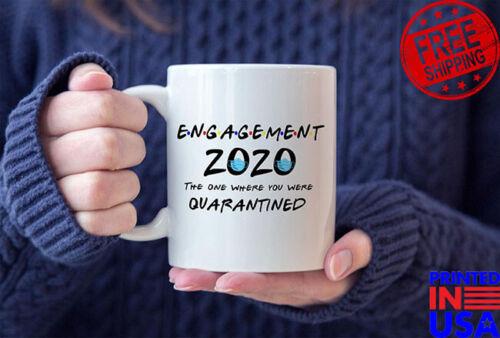 Engagement Mug Quarantine Engagement Engagement Gift Quarantine Wedding Coff...