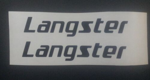 Specialized Langster vinyl sticker decal for re-spray restore etc