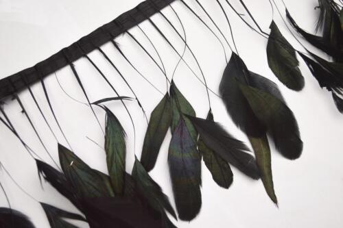 Designer Feather Fringe Trim Ribbon Craft for Facinator Wedding Show Dress Yd