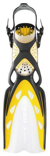 Mares X-Stream Open Heel Scuba Diving DiveFins - Yellow - All Sizes