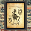 Curio Demon Oddity Occult Witch  Art Print Antique Effect Paper Buy 2 Get 1 Free