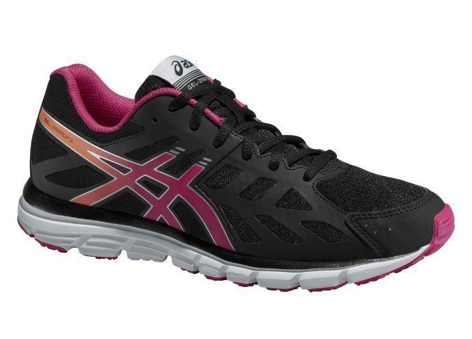 Asics Mujer corriendo zapato Gel Zaraca 3 natural que que que ejecutan T4D8N-9909. 590e1e