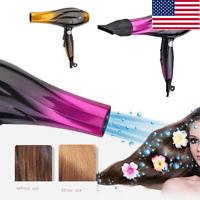 Professional Hair Blow Dryer 2800 W Black Heat Speed Blower Dry Watt Pro Usa