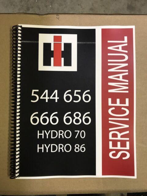 International Harvester 86 Tractor Hydro Service Manual