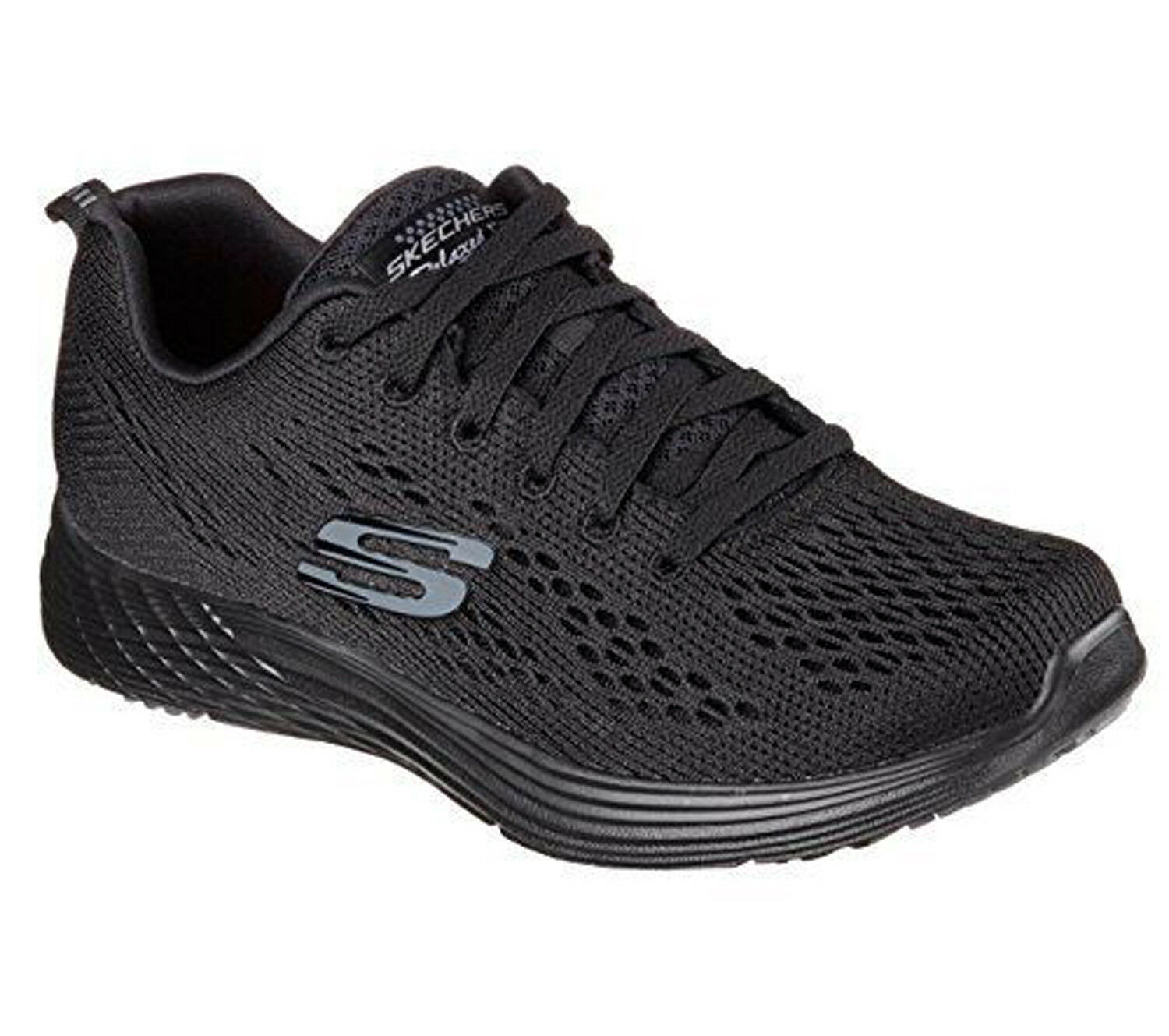 Skechers Relaxed Fit Valeris Valeris Valeris Backstage Pass Mujeres Negro Negro  alta calidad