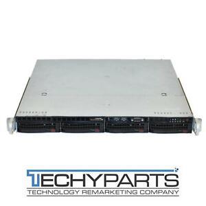 Supermicro-CSE-813MTQ-R400CB-2x-400W-PSU-1U-4-Bay-3-5-034-1U-Server-Chassis