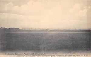 CPA-SEMAINE-LYONNAISE-D-039-AVIATION-1910-L-039-AVIATEUR-MIGNOT-SUR-VOISIN-CONCOURANT-PO