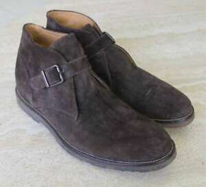 MEN-039-S-TO-BOOT-NEW-YORK-MADE-IN-ITALY-BROWN-SUEDE-ANKLE-BOOTS-SIZE-10-5-MED